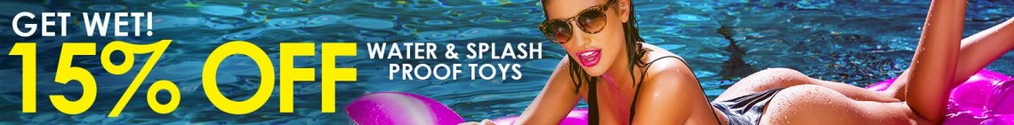 Get Wet this summer and save on Water and Splash Proof Toys! image