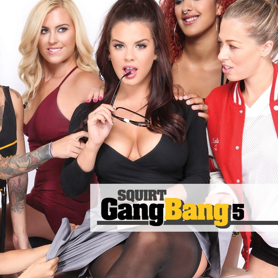 Squirt Gangbang Vol. 5
