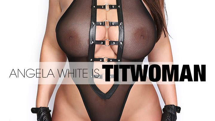 Behind the Scenes of Angela White is Titwoman