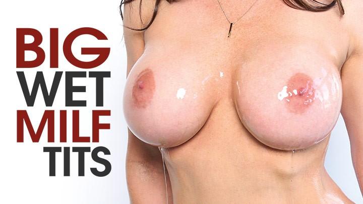 Behind the Scenes of Big Wet MILF Tits