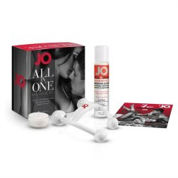 JO All In One Massage Gift Set Sex Toy