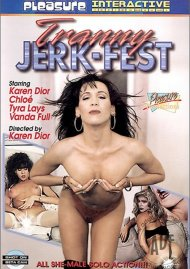 Tranny Jerk-Fest Porn Video