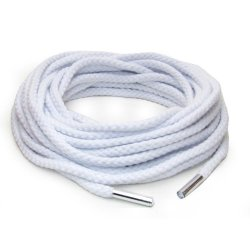 Fetish Fantasy Japanese Silk Rope - White