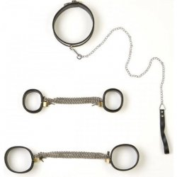 Rapture: 5 Piece Stainless Steel Bondage Set - Large Sex Toy