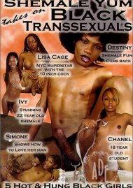 Shemale Yum Takes On Black Transsexuals