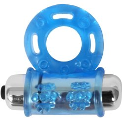 Stay Hard: Vibrating Bull Ring - Blue