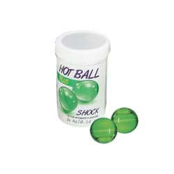 Hot Balls Plus - Shock - 2 Lube Balls