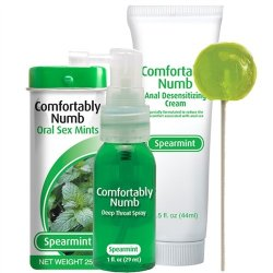 Comfortably Numb Pleasure Collection - Spearmint