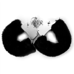 Fetish Fantasy Furry Cuffs - Black