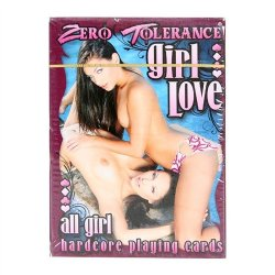Zero Tolerance All Girl Hardcore Playing Cards