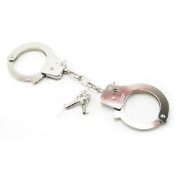 Fetish Fantasy Official Quick Release Handcuffs Silver