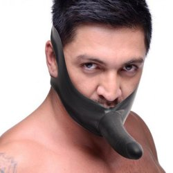 Master Series: Face Fuk Strap On Mouth Gag