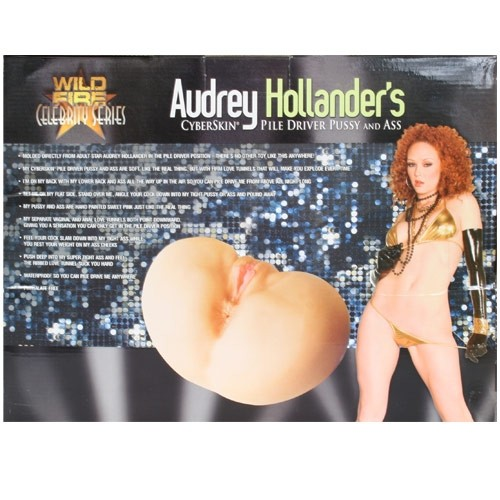 Audrey hollanders anal masturbation