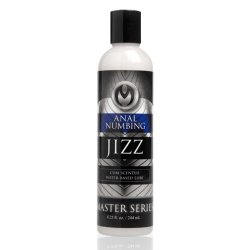 Master Series: Jizz Numbing Lube - Cum Scented - 8.5 oz.