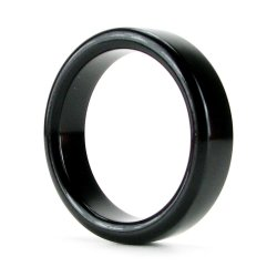 TitanMen Metal Cock Ring - Small - Black