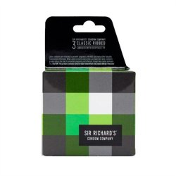 Sir Richard's Condoms - Classic Ribbed - 3 pk