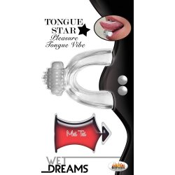Wet Dreams: Tongue Star - Clear
