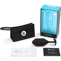 B-Vibe Snug Plug 4 - Black