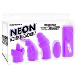 Neon Triple Play Kit - Purple