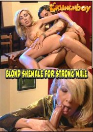 Blond Shemale For Strong Male Porn Video