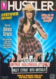 Hustler's Untrue Hollywood Stories: Miley Cyrus' 18th Birthday Porn Video