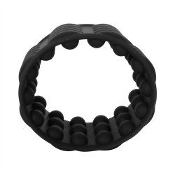 Adonis Silicone Reversible Silicone Enhancer - Black