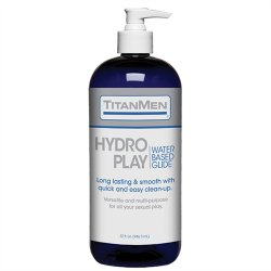 TitanMen Hydro Play - Water Based Glide - 32 fl. oz.