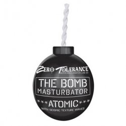 Zero Tolerance The Bomb Atomic Masturbator - Black
