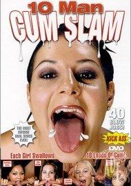 10 Man Cum Slam Porn Video