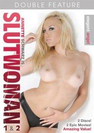 Annette Schwarz is Slutwoman 1 & 2