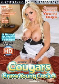 Cougars Crave Young Cock! #4 Porn Video