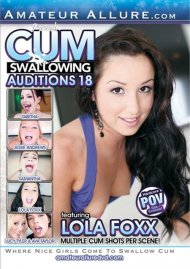 Cum Swallowing Auditions Vol. 18 Porn Video