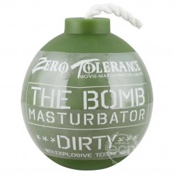 Zero Tolerance The Bomb Dirty Masturbator - Green Sex Toy