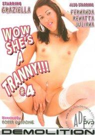 Wow She's A Tranny!!! #4 Porn Video