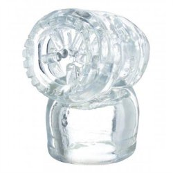 Vibra Cup Wand Attachment - Clear