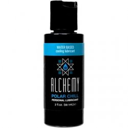 Alchemy Polar Chill Water Based Cooling Lube - 2oz.
