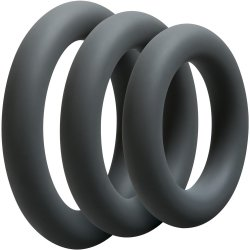 Optimale: 3 C-Ring Thick Set - Slate