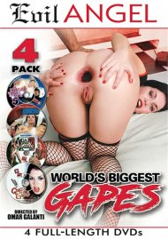 World's Biggest Gapes 4-Pack