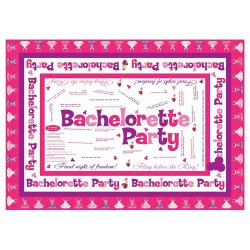 Bachelorette Party Trivia Tablecloth