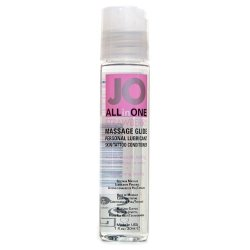System JO All In One Massage Glide - Strawberry 1oz.