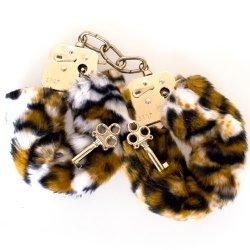 Fetish Fantasy Furry Cuffs - Leopard
