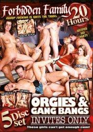 Orgies & Gangbangs Invite Only (5-Disc Set)