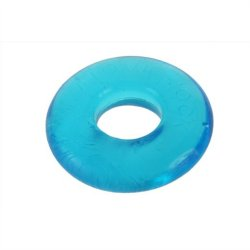 Ox Balls Do-nut 2 Large Cockring - Ice Blue