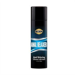 Body Action Anal Relaxer Silicone Lubricant