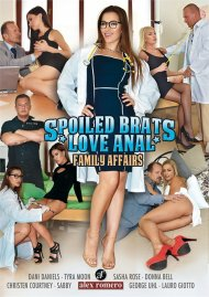 Family Affairs: Spoiled Brats Love Anal Porn Video