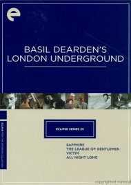 Basil Dearden's London Underground: Eclipse From The Criterion Collection