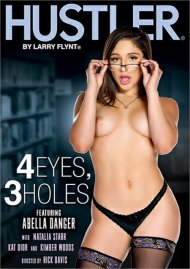 4 Eyes, 3 Holes Porn Video