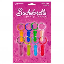 Bachelorette Party Favors Dicky Wine Charms