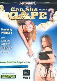 Can She Gape? Porn Video