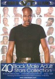 Top 40 Black Male Adult Stars Collection Porn Video